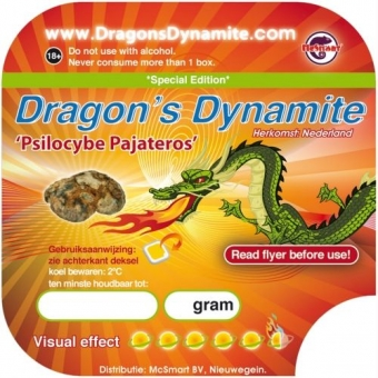 Dragon's Dynamite 15 gram - Magic Truffels